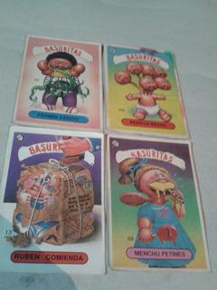 Garbage Pail Kids-basuritas-figuritas-lote-1990