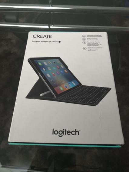 Case Com Teclado Logitech Create Para iPad Pro 9.7