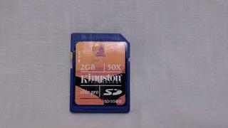 Cartão Kingsdton Sd 50x 2gb