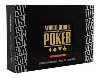 Cartas Baralho Estojo Plastico World Series Of Poker Copag