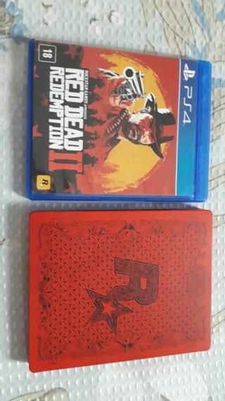 Ps4 - Red Dead Redemption 2 - Steelbook (colecionador)