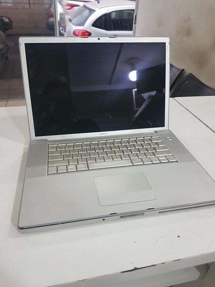 Macbook Pro A1260 (não Liga Pra Peças Ou Reparo)