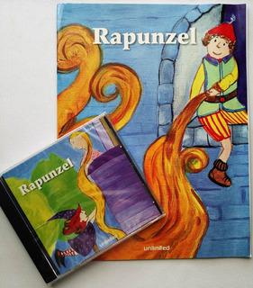 Cd Audicuento Rapunzel - Audiocuento + Librito Nuevo Orginal
