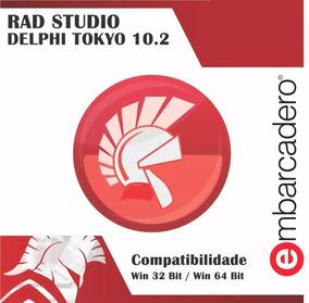 Rad Studio Delphi 10.2 Tokyo + 20 Componentes