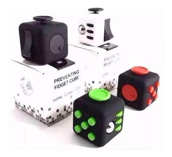 3 Cubo Fidget Spinner Anti Stress Ansiedade Dado Para Toque