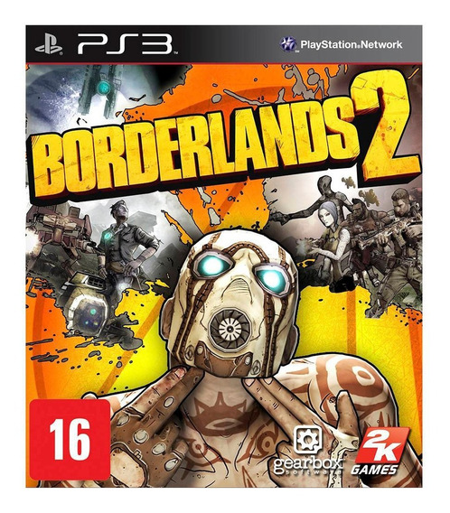 Borderlands 2 (mídia Física - Lacrado) - Ps3