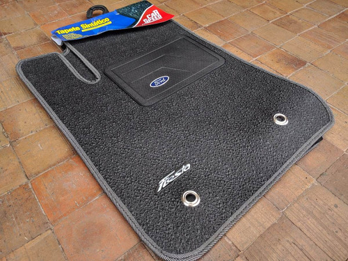 Tapetes Ford Fiesta Sintético Accesorios Carro Lujos