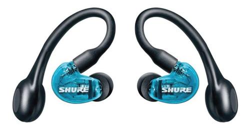 Imagem 1 de 3 de Fone In Ear Sem Fio Aonic 215 Azul Shure Se215spe-b-tw1