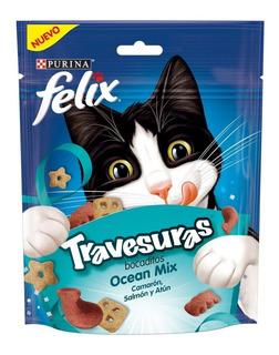 Premios Para Gato Felix Travesuras 10 Sobres Ocean Mix