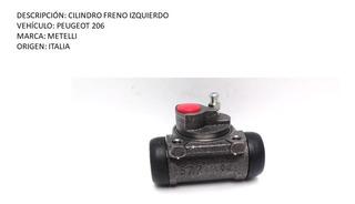 Cilindro Freno Peugeot 206 Izquierdo