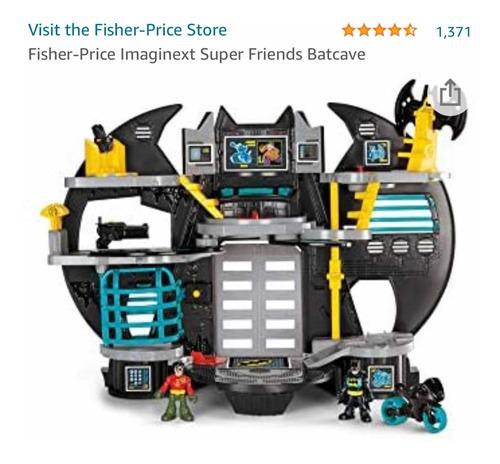 Brinquedo Casa Batman Batcaverna Imaginext Super Friends