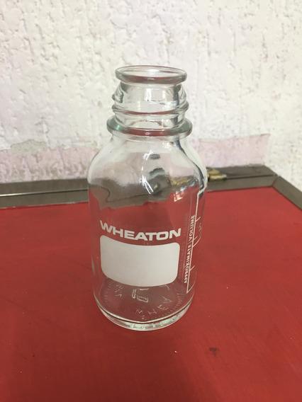 Frasco Botella De Vidrio Wheaton 125ml Sin Tapa