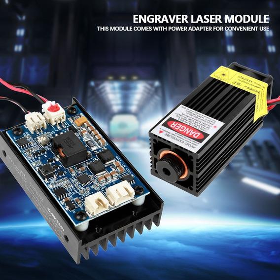 Módulo Laser Potência 15w 450nm Cnc Ttl Pwm Completo