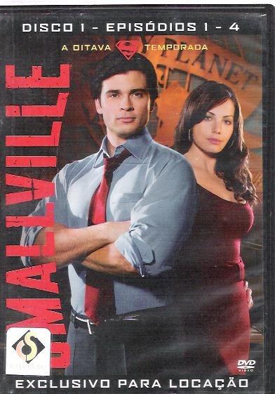 Dvd Smallville Oitava Temporada Disco 1 Episódios 1 - 4 (54)