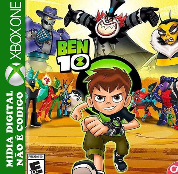Ben 10 Midia 1 Jogos Brinde Digital Xbox One Roraima Games