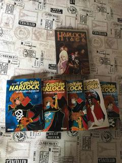 Colección Completa Cap. Harlock + Dvd