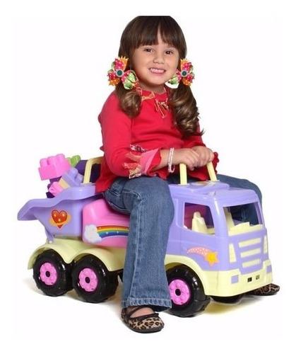 Carro Montable Andadera Truck Niños Y Niñas Juguete Nuevo