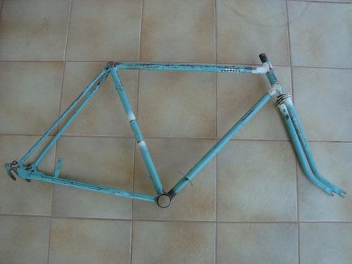 Quadro E Garfo Masculino Aro 26 Bicicletas Antigas Erlan