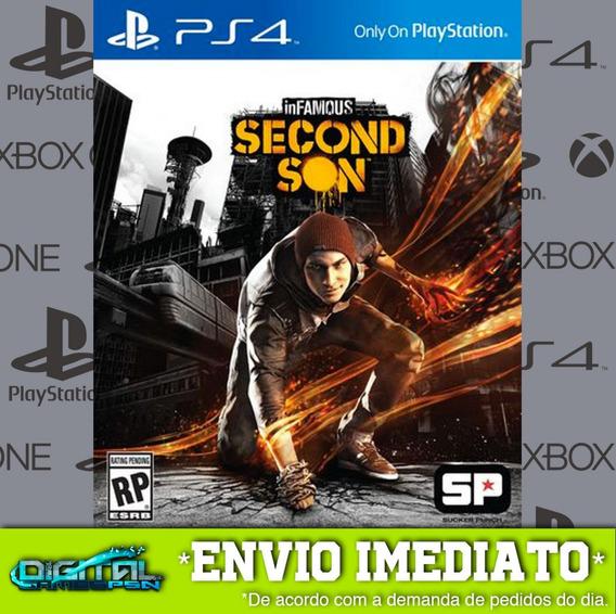 Infamous Second Son Ps4 Psn Jogo Digital Envio Agora!