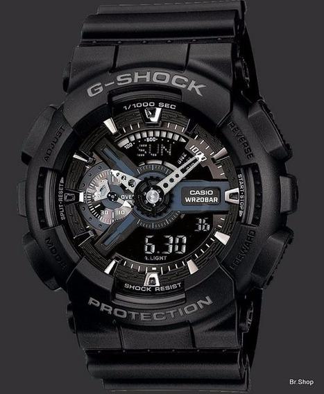 Relógio Casio Gshock Ga-110 Todo Preto