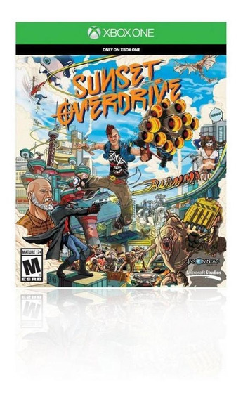 Jogo Game Sunset Overdrive - Xbox One