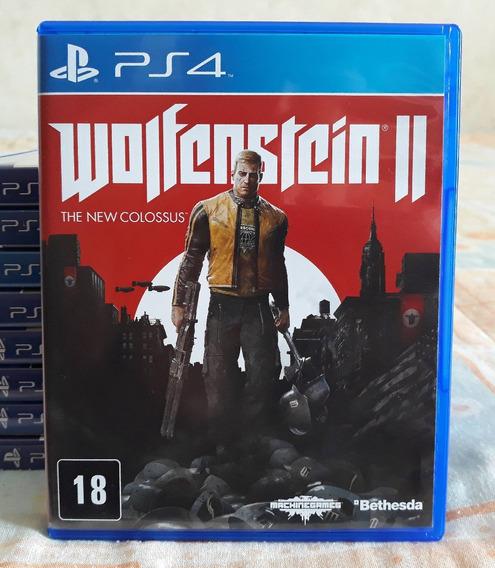 Wolfenstein 2 The New Colossus Ps4 - Jogo Mídia Física Português