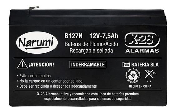 Batería Oficial Alarma X-28 B127n Batería 12v 7ah