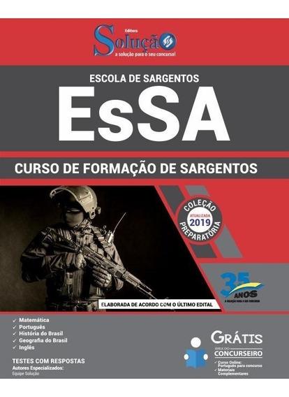 Apostila Esa 2019 - Curso De Formação De Sargentos