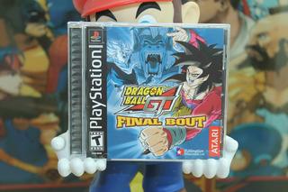 Dragon Ball Gt Final Bout Playstation 1 Completo Atari