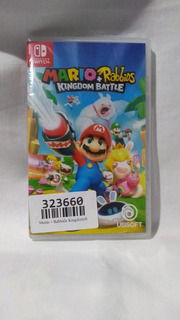 Mario + Rabbids Kingdom Battle - Nuevo Y Sellado - Switch