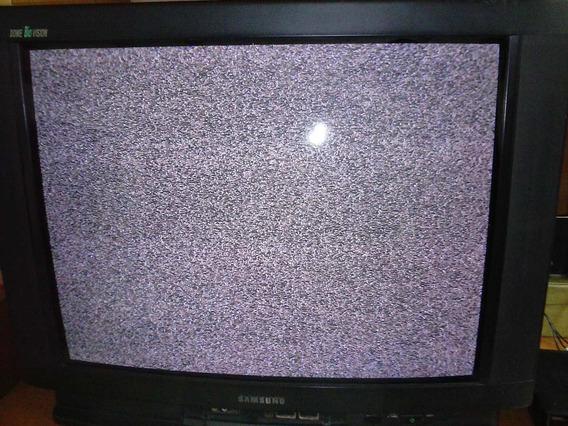 Tv Crt Samsung 29 Polegadas + Dvd Player Lg = Só R$ 259,90