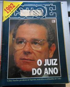 Revista Istoé 1213 - 30 Dez 1992 - Fatos E Personagens De 92