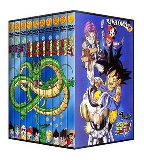 Dvds Dragon Ball + Z + Gt + Filmes Dublados Série Completa