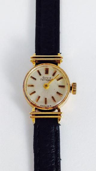 Reloj Girard Perregaux P/ Dama, De Oro Sólido 18k (ref 731)