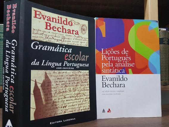 Gramática Escolar +lições De Port. Análise Sintática Bechara