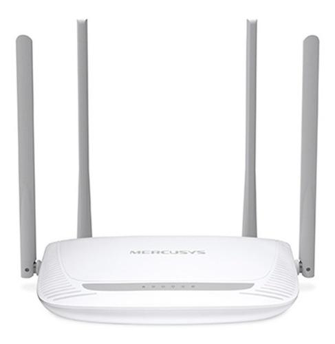 Imagem 1 de 4 de Roteador Wireless 300 Mbps C/ 4 Antenas Fixas - Mercusys