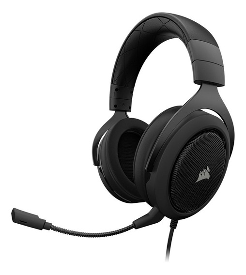 Audifonos Gamer Corsair Hs60 Negro 3.5mm Xbox One Ps4 Switch