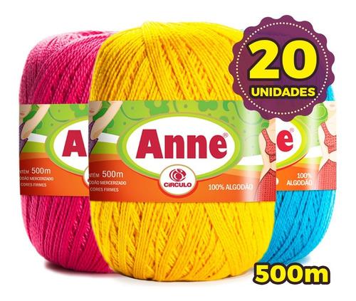 Linha Anne 500 Círculo - Kit 20 Unid +* Promoção*