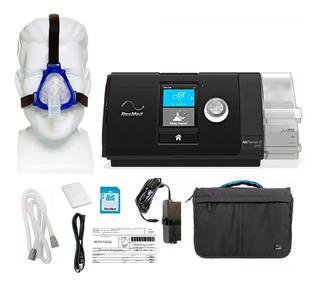 Cpap Automático Completo S10 Resmed + Umidificador + Máscara