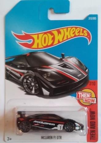 Miniatura Hot Wheels Mclaren F1 Gtr - Série Then And Now !!!