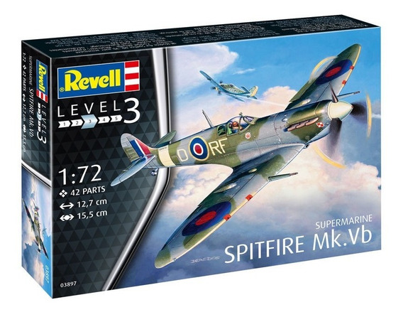 Supermarine Sptifire Mk Vb Escala 1/72 Revell 03897