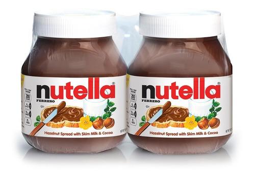 Imagen 1 de 1 de Nutella Pack De 750 Gr