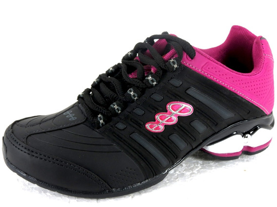 Tênis Esportivo Caminhada Black Free Feminino Masculino 9300