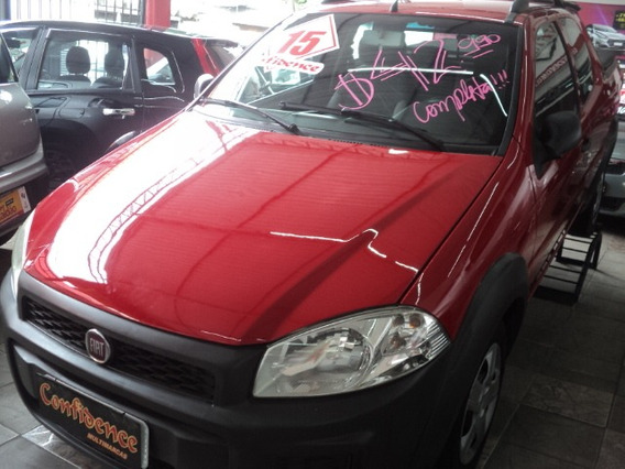 Fiat Strada Working 1.4 Cd 2015 $40990,00 Completa Kit Gas
