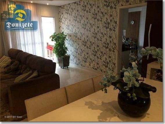 Apartamento Com 3 Dormitórios À Venda, 140 M² Por R$ 959.000,00 - Santa Paula - São Caetano Do Sul/sp - Ap7105