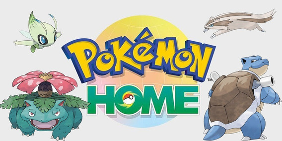 Pacote 807 + 110 Pokemon (pokemon Home) (switch)