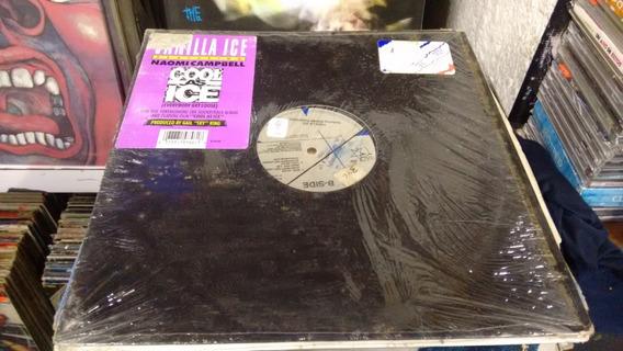 Lp Vanilla Ice Cool As Ice Single Imp,acetato,long,play