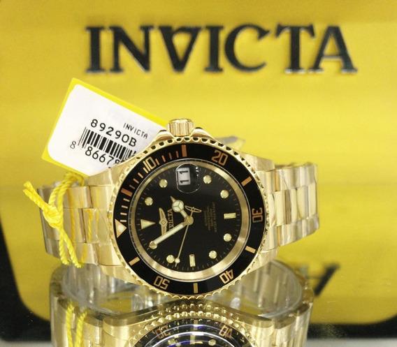 Relógio Invicta 8929ob Automático Ouro 18k **** Pro Diver