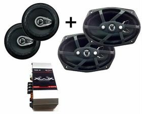 Kit Auto Falante 6 Pol + 6x9 Orion 200 Watts + Modulo 100w