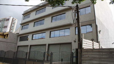 Prédio Em Santos Bairro Vila Mathias - V10327